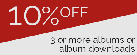 10 percent off 3 or more CDs or CD downloads