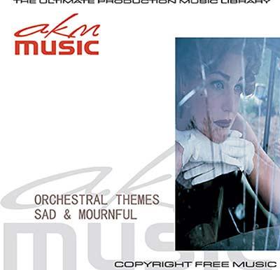 Royalty Free Sad & Mournful Music from AKM Music CD & MP3