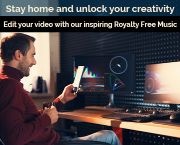 Stay home and unlock your creativity. Edit your video with our inspiring Royalty Free Music. 10% off all albums & tracks. Buy 3 or more and save 20%.